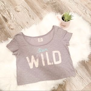 American Eagle Run Wild Crop Top